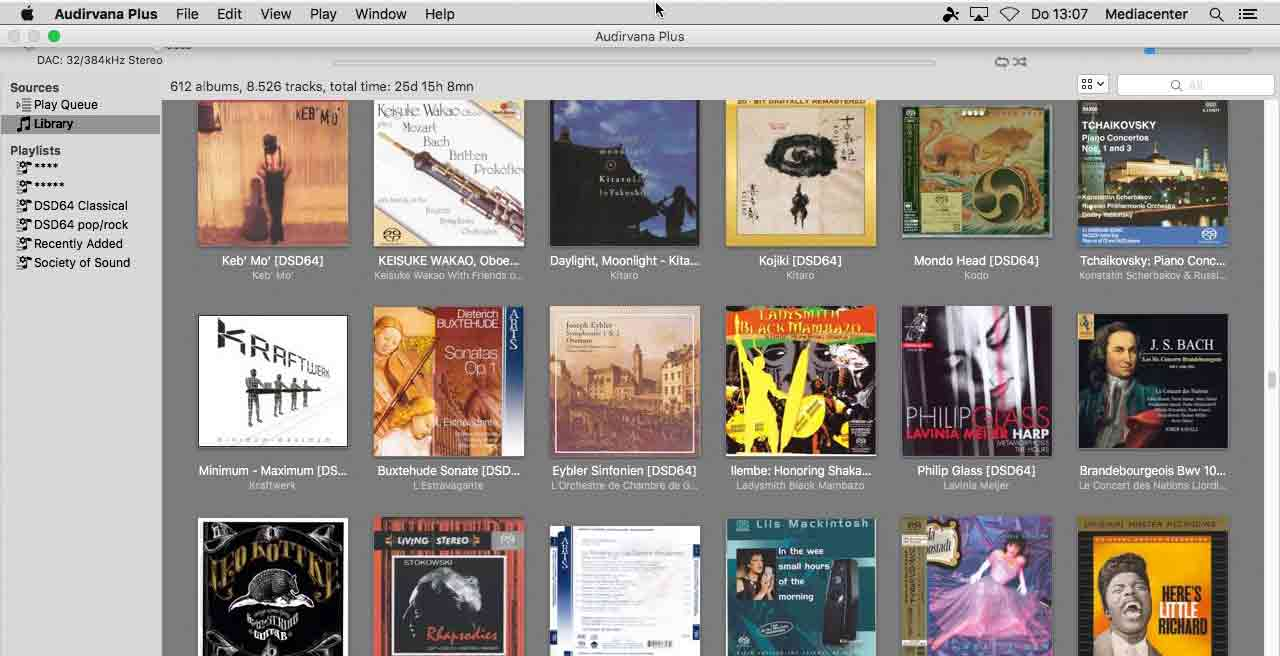 Audiophile software players for the Mac, Articles, The Hans