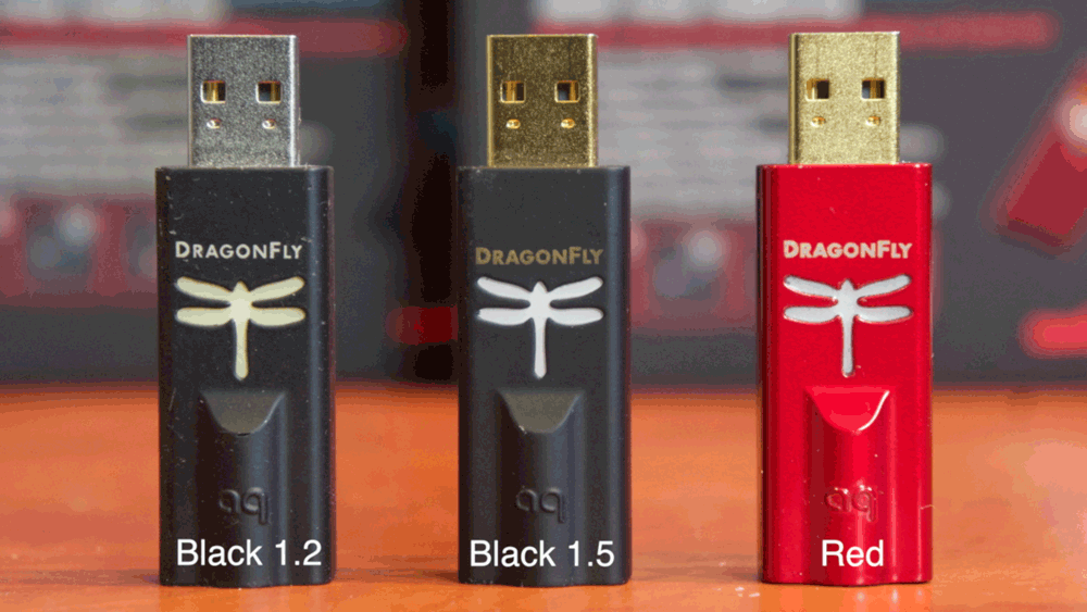 Audioquest DragonFly Black 15 and Red d/a-converters, Reviews, The